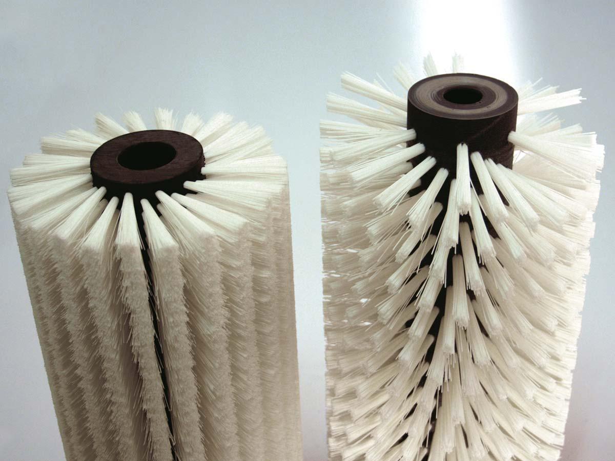 spazzole cilindriche industriali