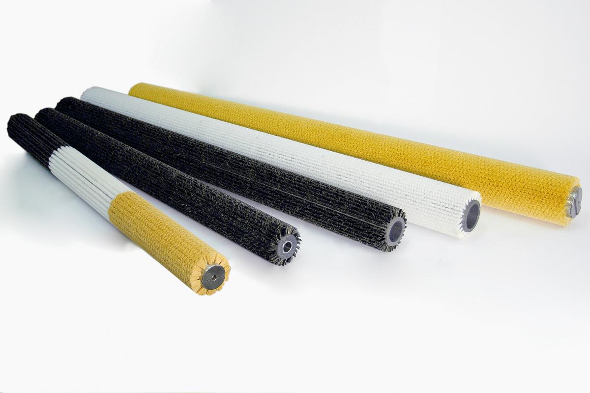 spazzole cilindriche per stampi ceramici