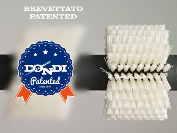 patentierte zylindrische Bürste