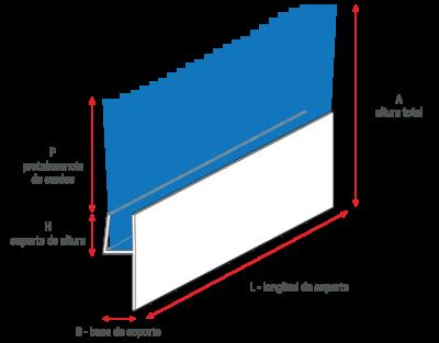 Cepillos de listón con perfil metálico para puertas de entrada y puertas basculantes